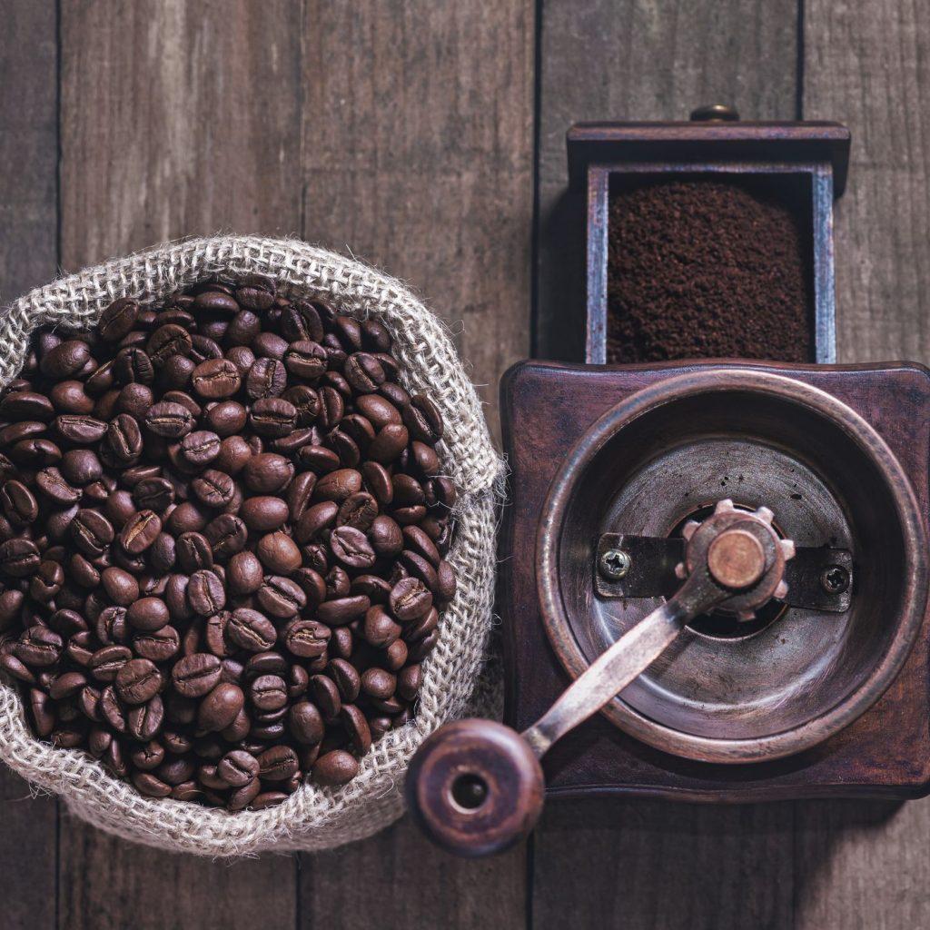 mletie kávy mlynčeky