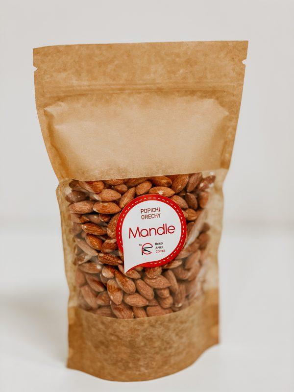 Mandle pražené a údené 500g - orechy